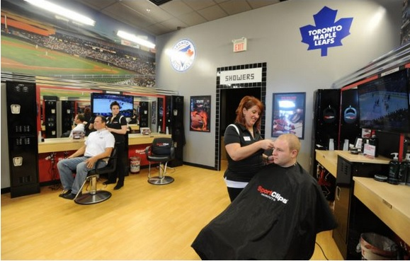 Sport clips men s hair salon franchise from u s comes for A little off the top salon